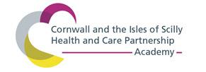 Cornwall and the IOS Health and Care Partnership Academy Logo